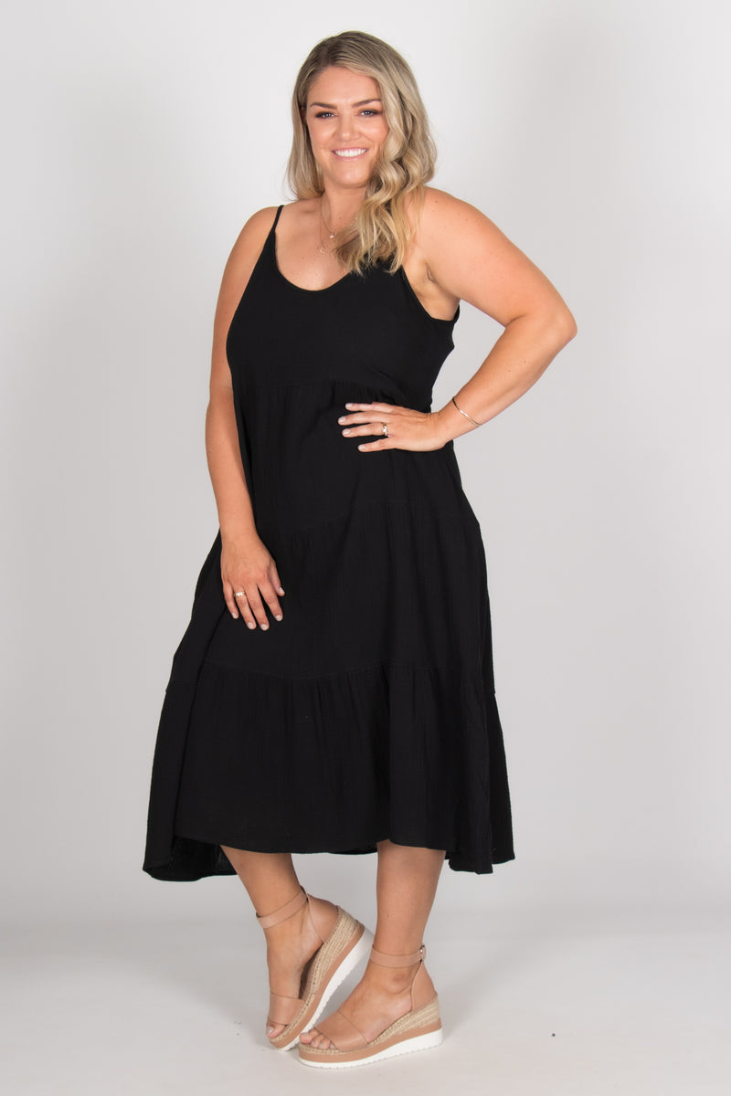 Felicity Dress in Black