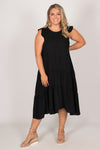 Opal Dress in Black