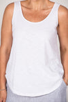Boston Tank in White