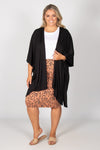 Marrakech Cardigan in Black