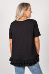 Sorrento Tee in Black