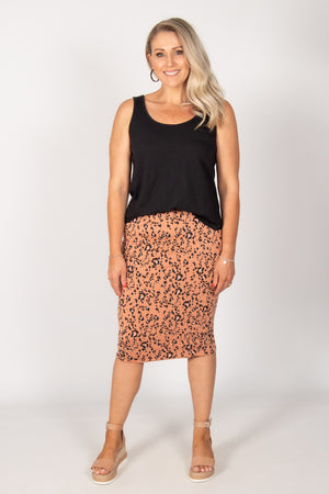 Maya Reversible Skirt in Lynx