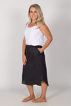 Carson Skirt in Indi Grey