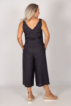 Joey Jumpsuit in Indi Grey