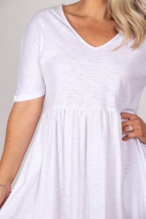 Portsea Dress in White