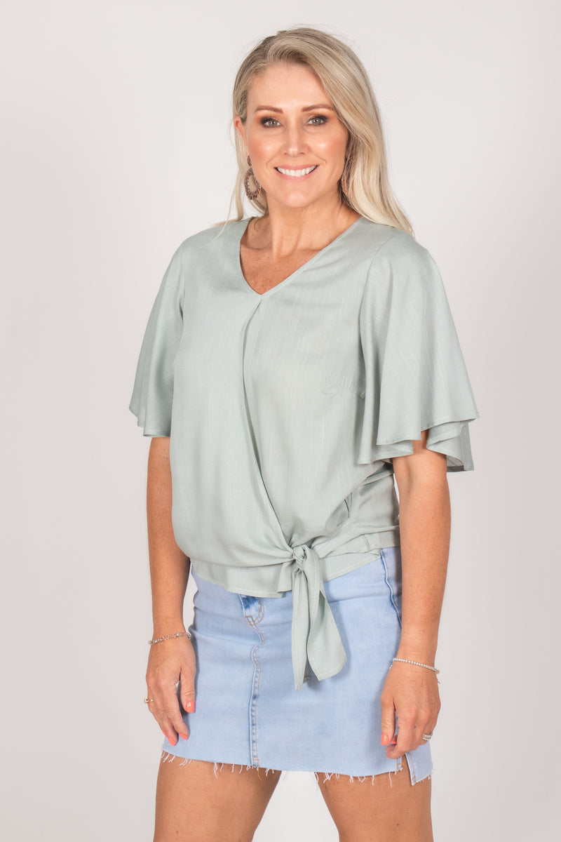 Bella Top in Mist