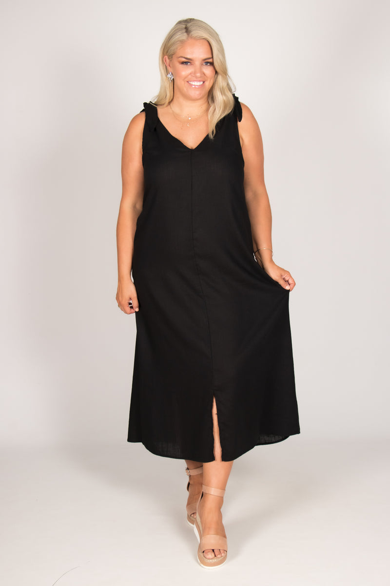 Maylands Dress in Black