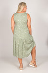 Sara Dress in Olive