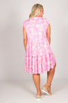 Samantha Dress in Pink