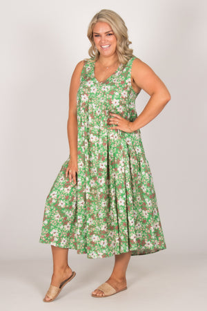 Stevie Dress in Secret Garden