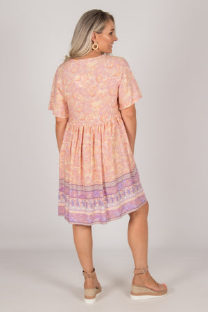 Colton Dress in Pastels
