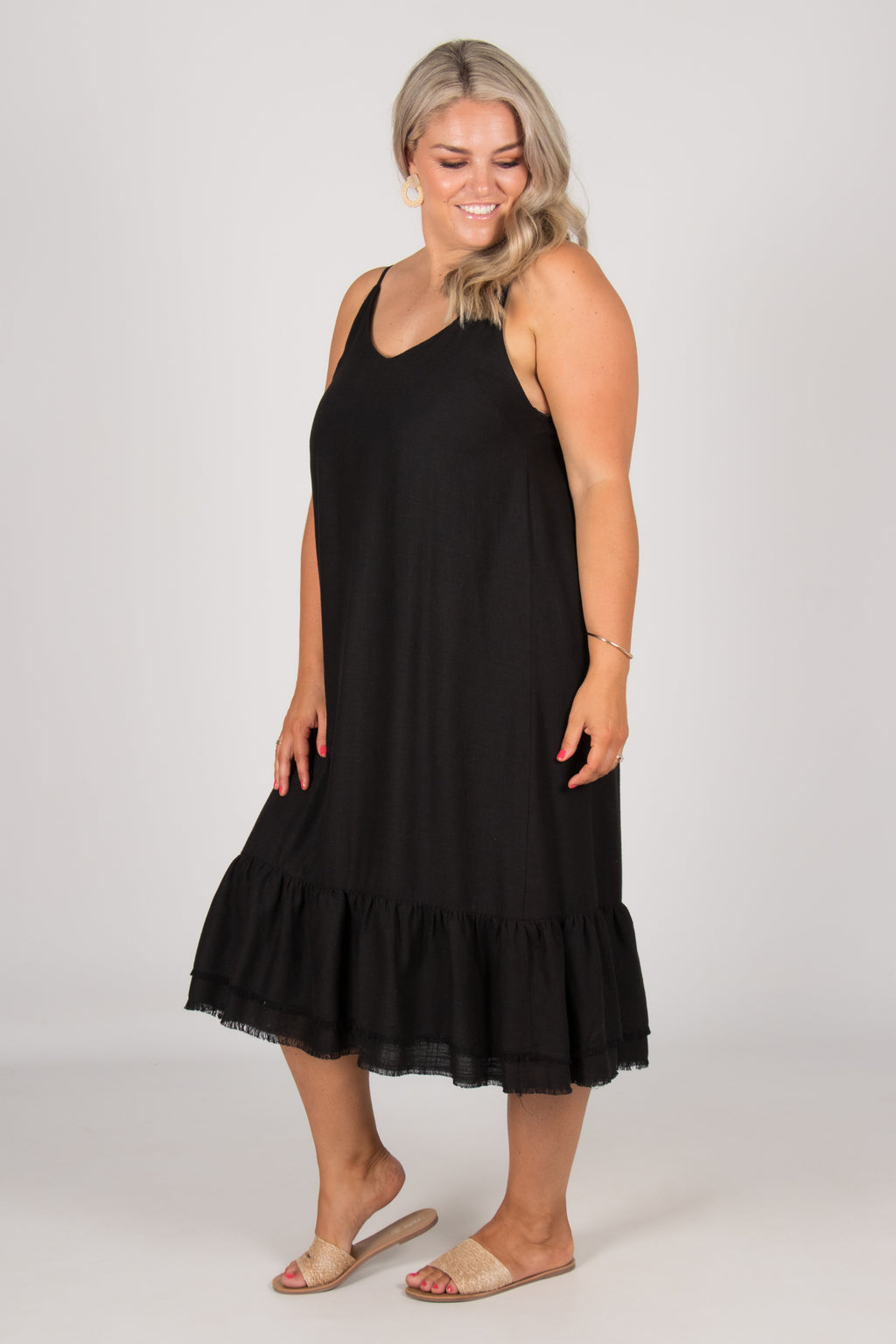 Ashwell Dress in Black