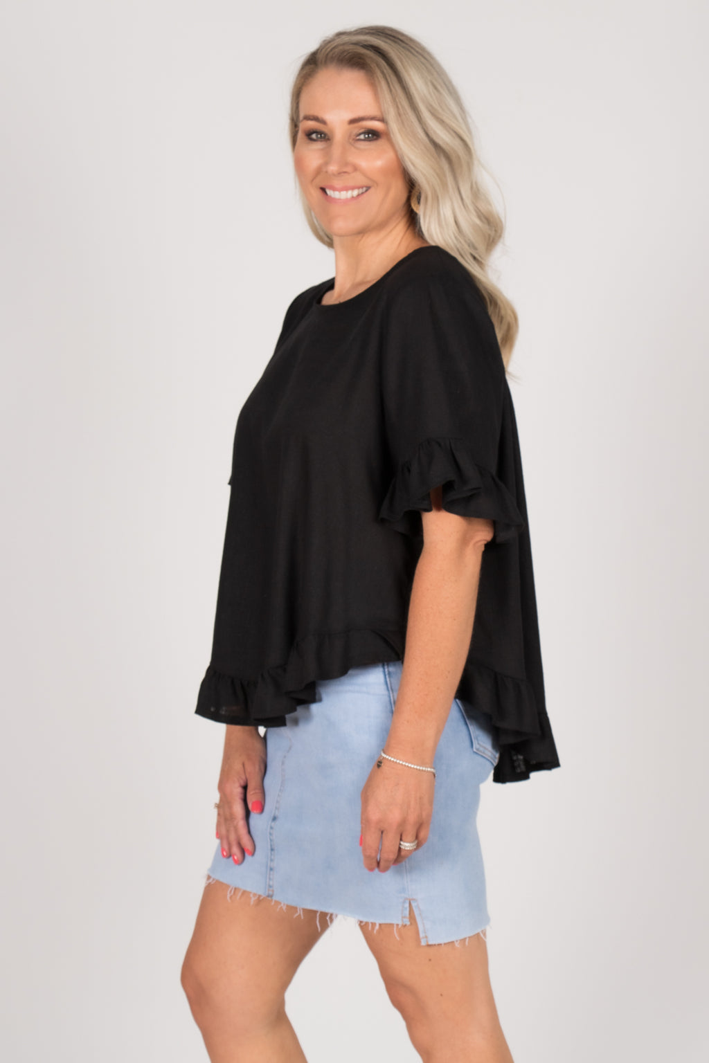 Ainslie Top in Black