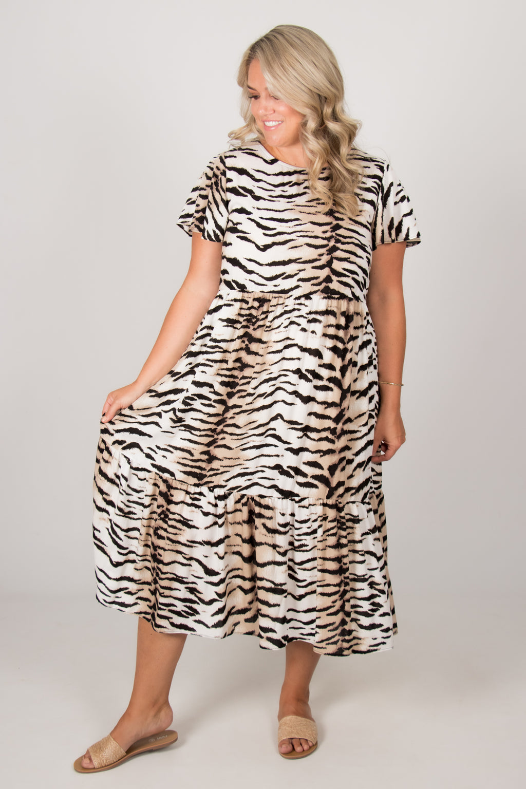 Logan Dress in Tiger