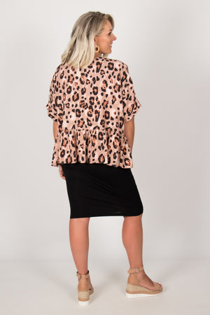 Seattle Top in Leopard
