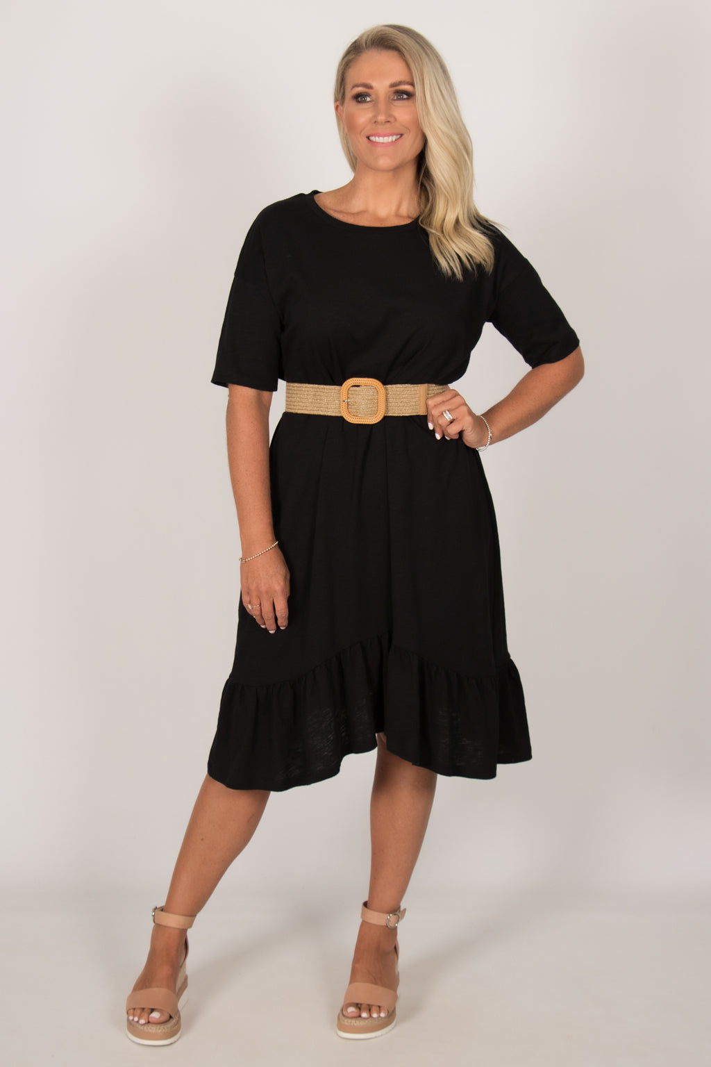 Goldie Dress in Black