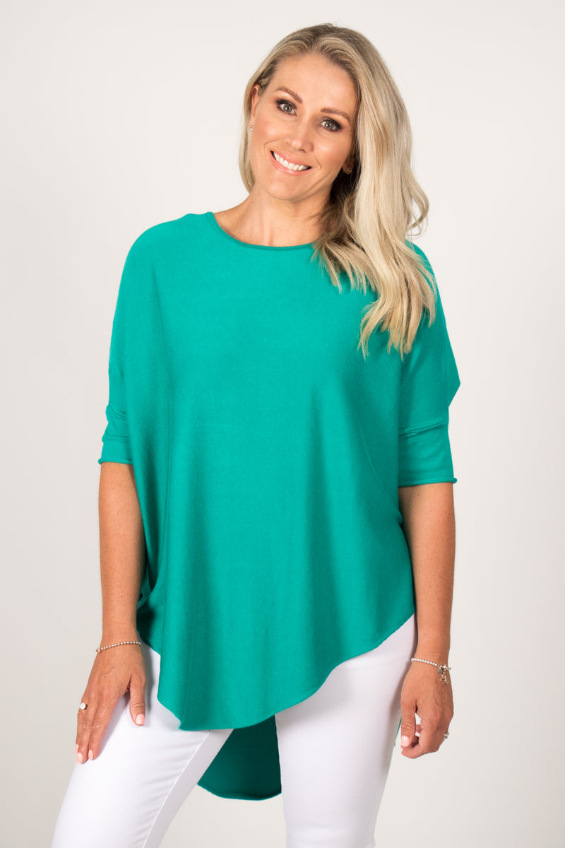 Charlie Knit Top in Jade