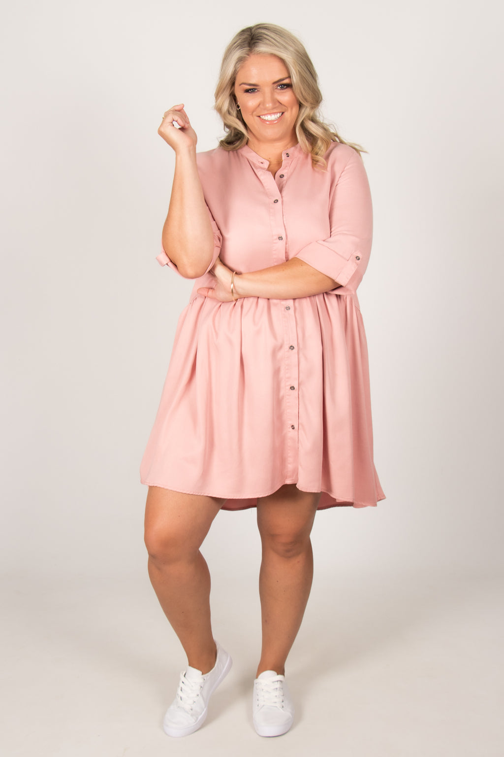 Frankie Dress in Rose