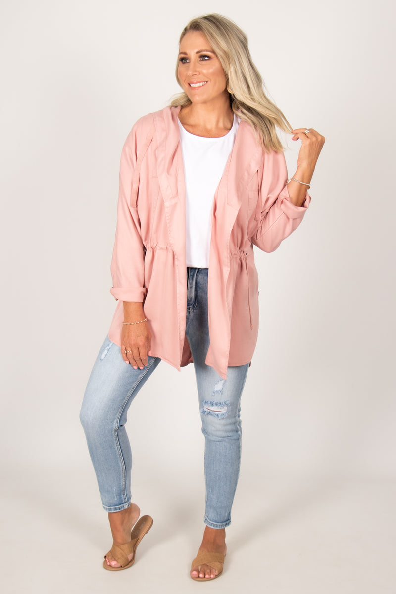 Frankie Jacket in Rose