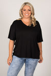 Boyfriend Tee in Black