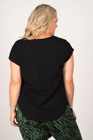 Tulip Top in Black