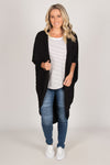 Santorini Cardigan in Black