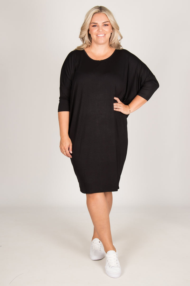 Lucia Dress in Black