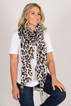 Swift Leopard Scarf in Light