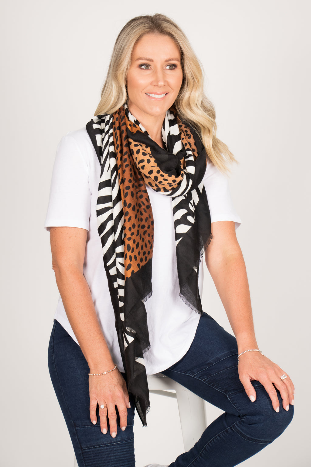 Vassallo Scarf in Jungle