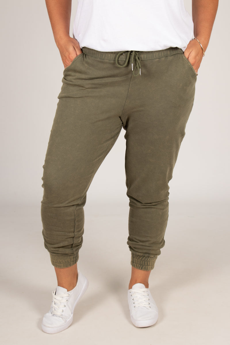 Coco Pant in Fern