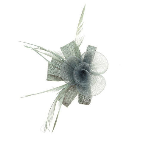 Quinn Clip/Brooch in Grey