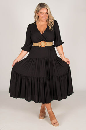 Aimie Dress in Black