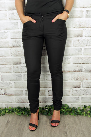 Runway Tailored Pants in Black