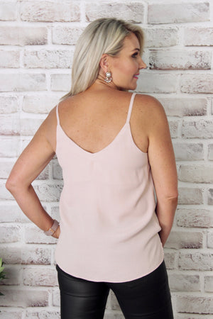 Peace Cami in Blush