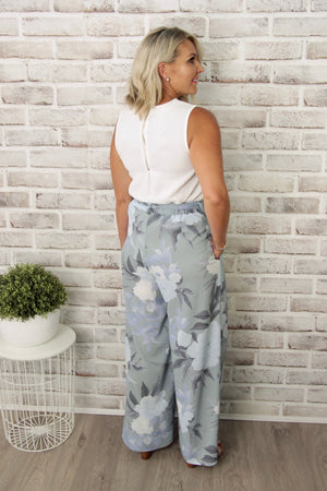 Orchard Culotte in Blue Haze