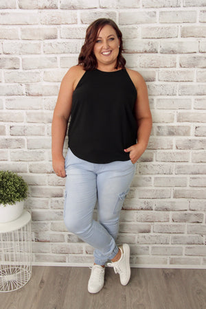 Carly Top in Black