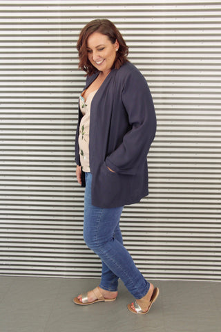 Stella Jacket in Navy