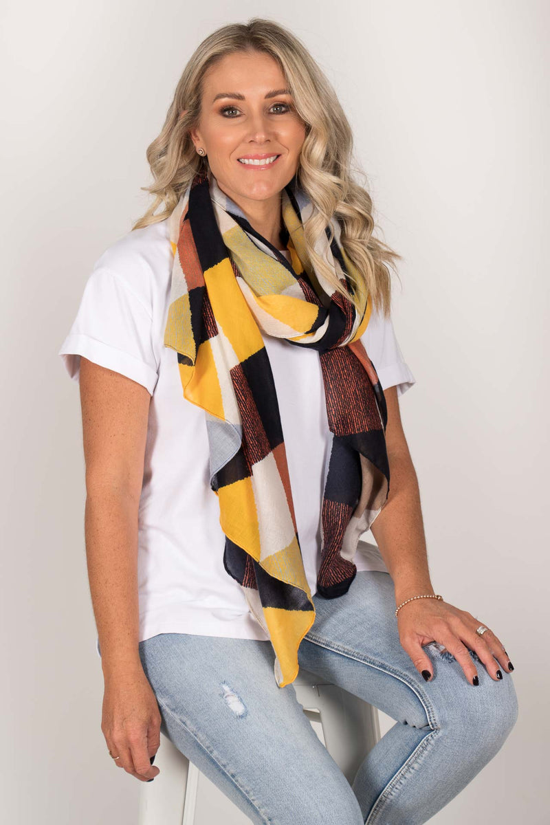 Montana Scarf in Blue