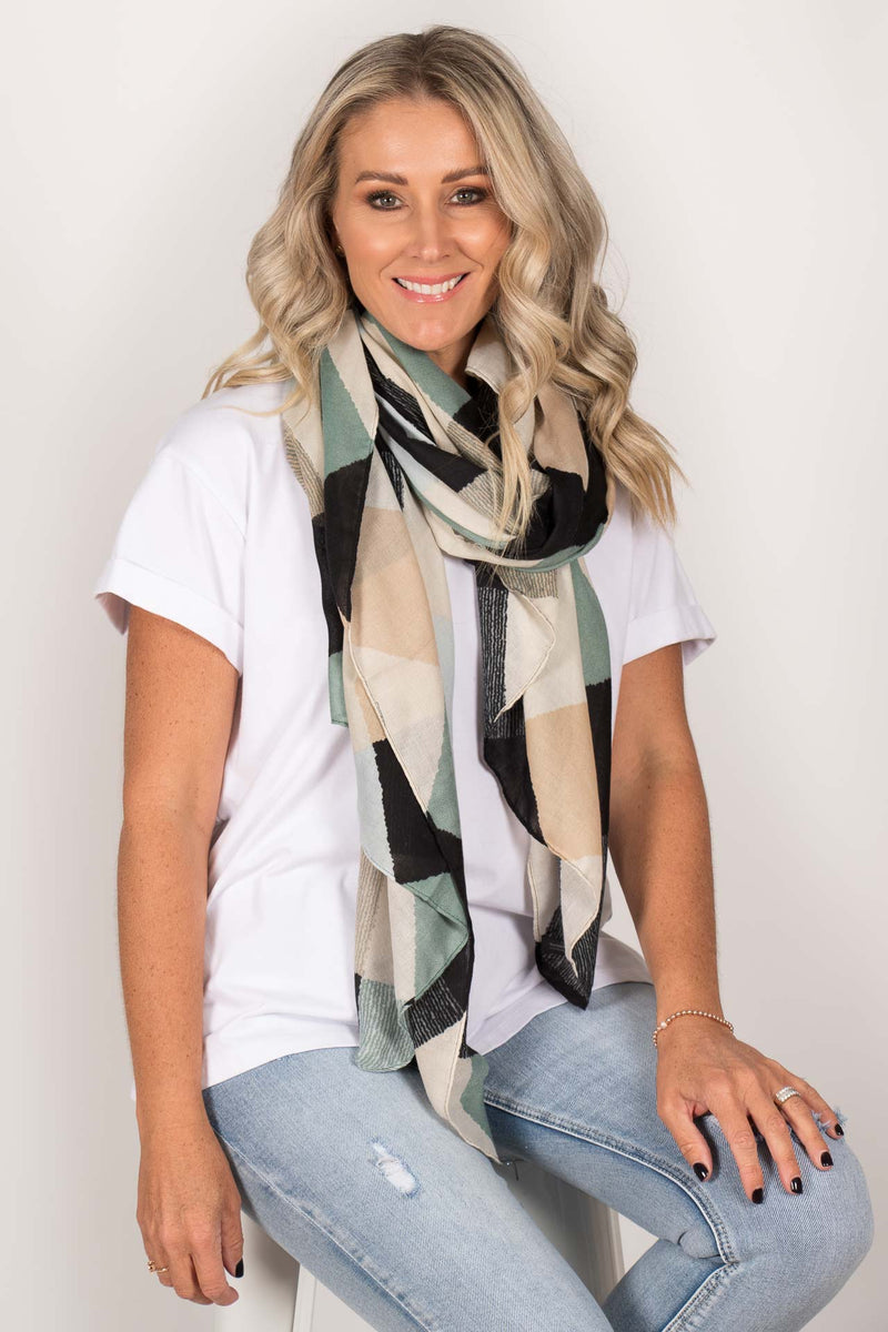 Montana Scarf in Teal