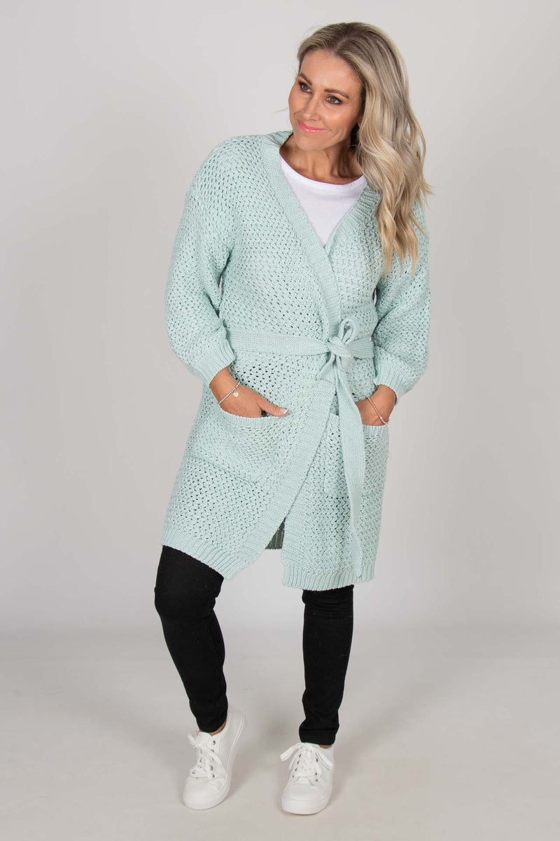 Awakening Cardi in Mint