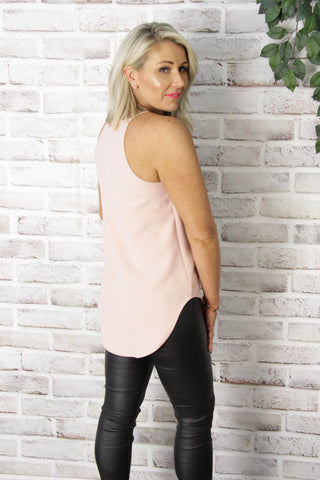 Carly Top in Pink