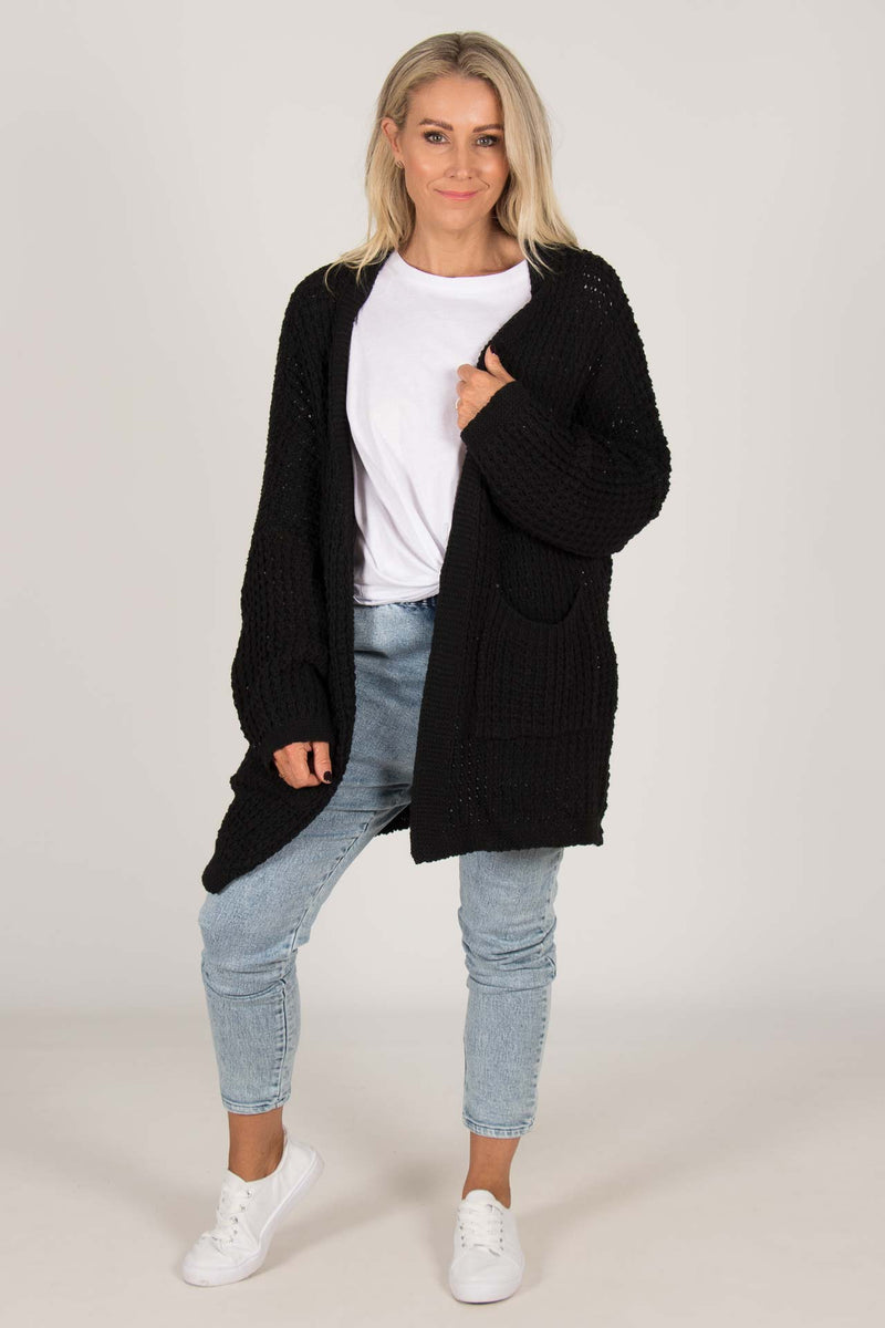 Knox Cardi in Black