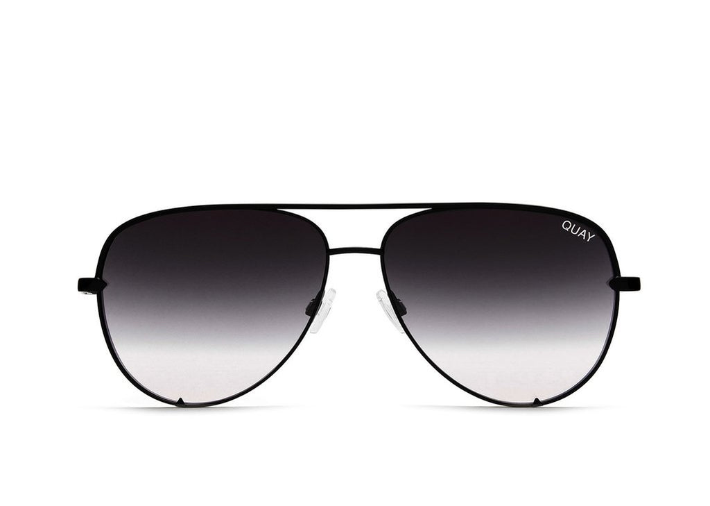 Quay Eyewear - High Key Mini in Black/Fade