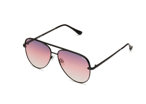 Quay Eyewear - Sahara Mini (Black/Purple)