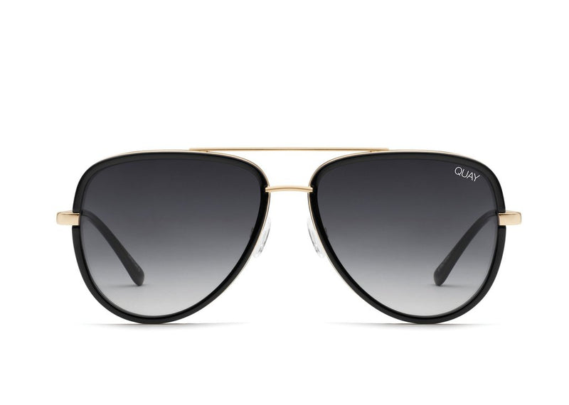 Quay Eyewear - All In - in Black/Smoke Fade