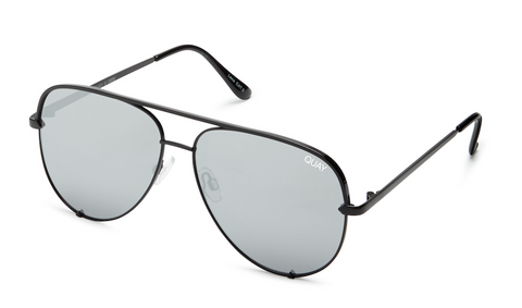 Quay Eyewear - High Key Mini (Black/Silver)