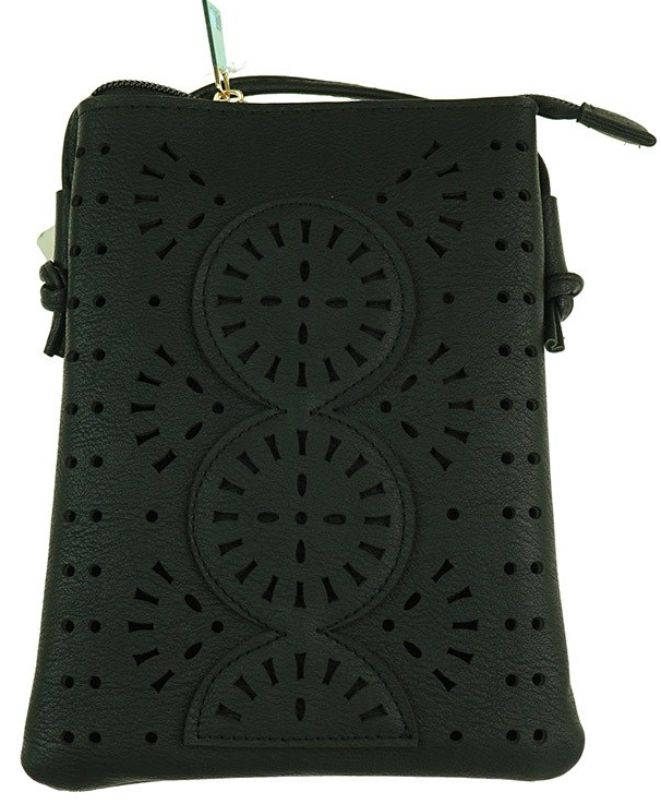 Lush Sling Bag in Black