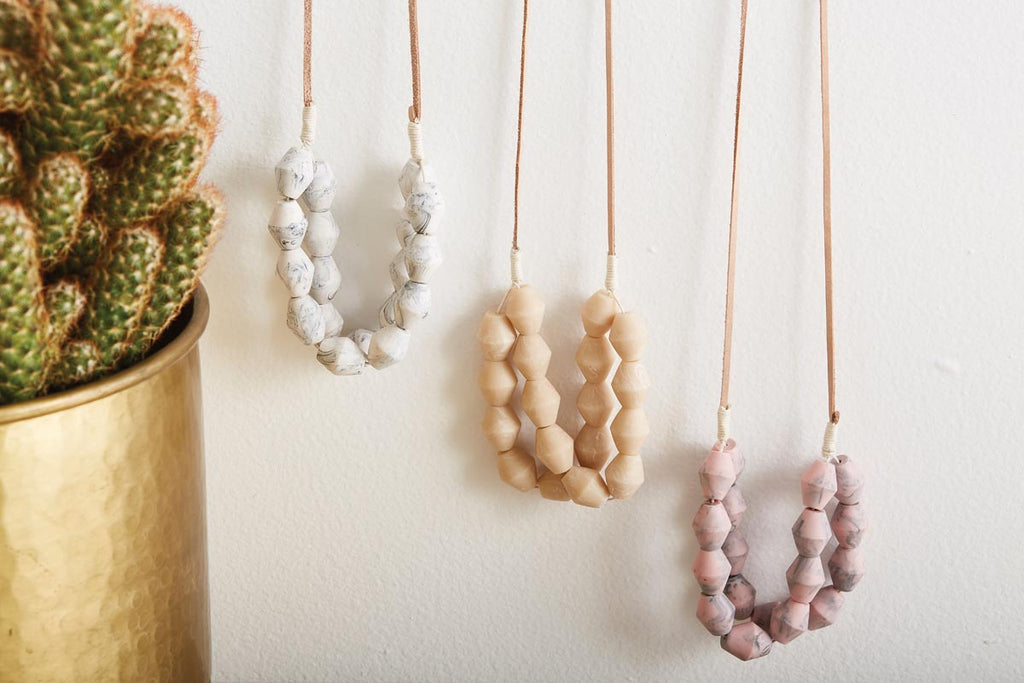 Blanca Necklace in Blush