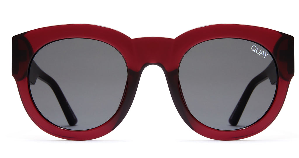 Quay Eyewear - If Only (Red/Smoke)