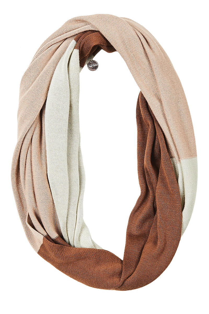 Eden Scarf in Latte